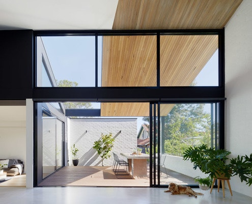 House for Three Generations by po-co Architecture (via Lunchbox Architect)