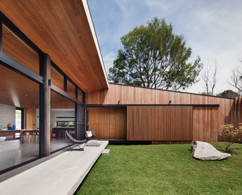 Hover House by Bower Architecture (via Lunchbox Architect)
