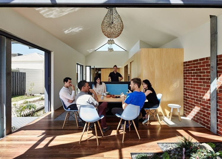 Cut Paw Paw Inside Out House by Andrew maynard Architects (via Lunchbox Architect) (via Lunchbox Architect)