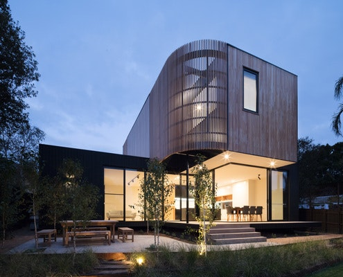 Ivanhoe Extension by Modscape (via Lunchbox Architect)