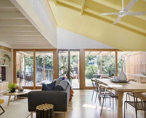Joyful House by Mihaly Slocombe (via Lunchbox Architect)