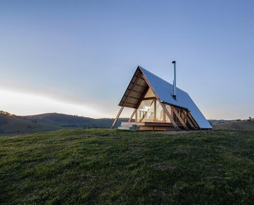 JR's Hut at Kimo Estate
