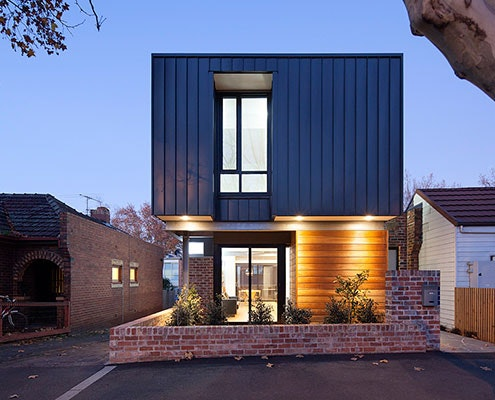 Kensington House by Peter Vernon Architects (via Lunchbox Architect)