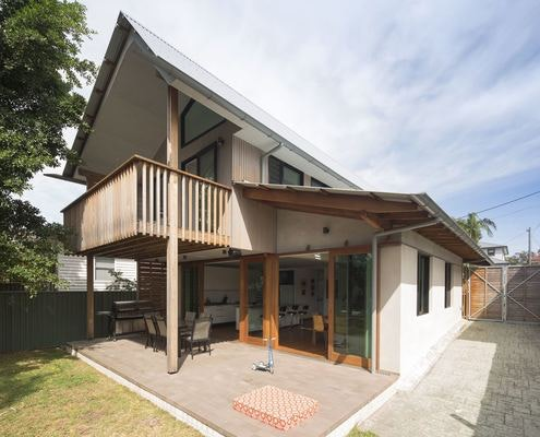 Kurnell House by Dunn and Hillam Architects (via Lunchbox Architect)