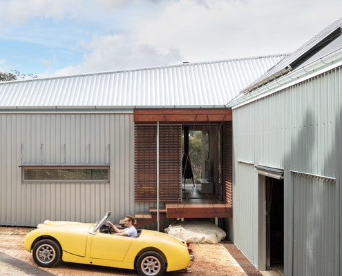 L-House by Alexander Symes Architect (via Lunchbox Architect)