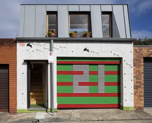 Laneway Studio by McGregor Westlake Architecture (via Lunchbox Architect)
