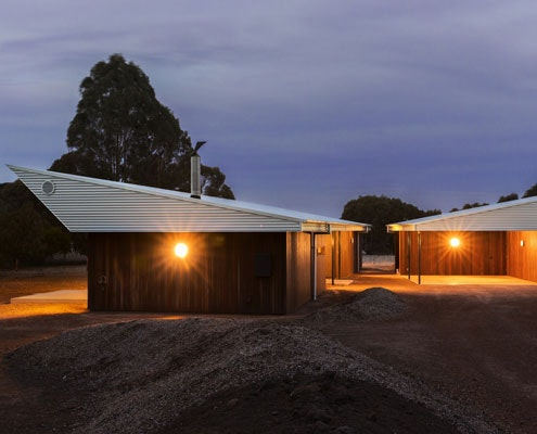 Leura Lane House by Cooper Scaife Architects (via Lunchbox Architect)