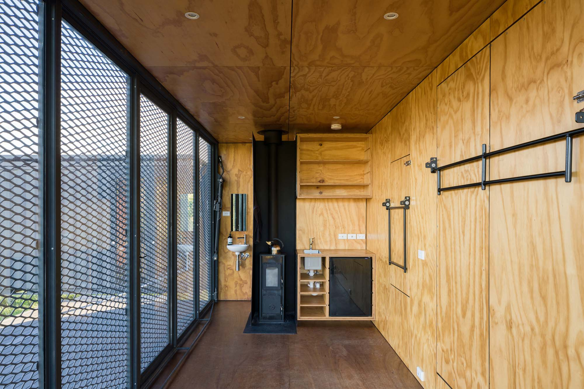 This Off-grid Shipping Container Tiny House is the Perfect Retreat