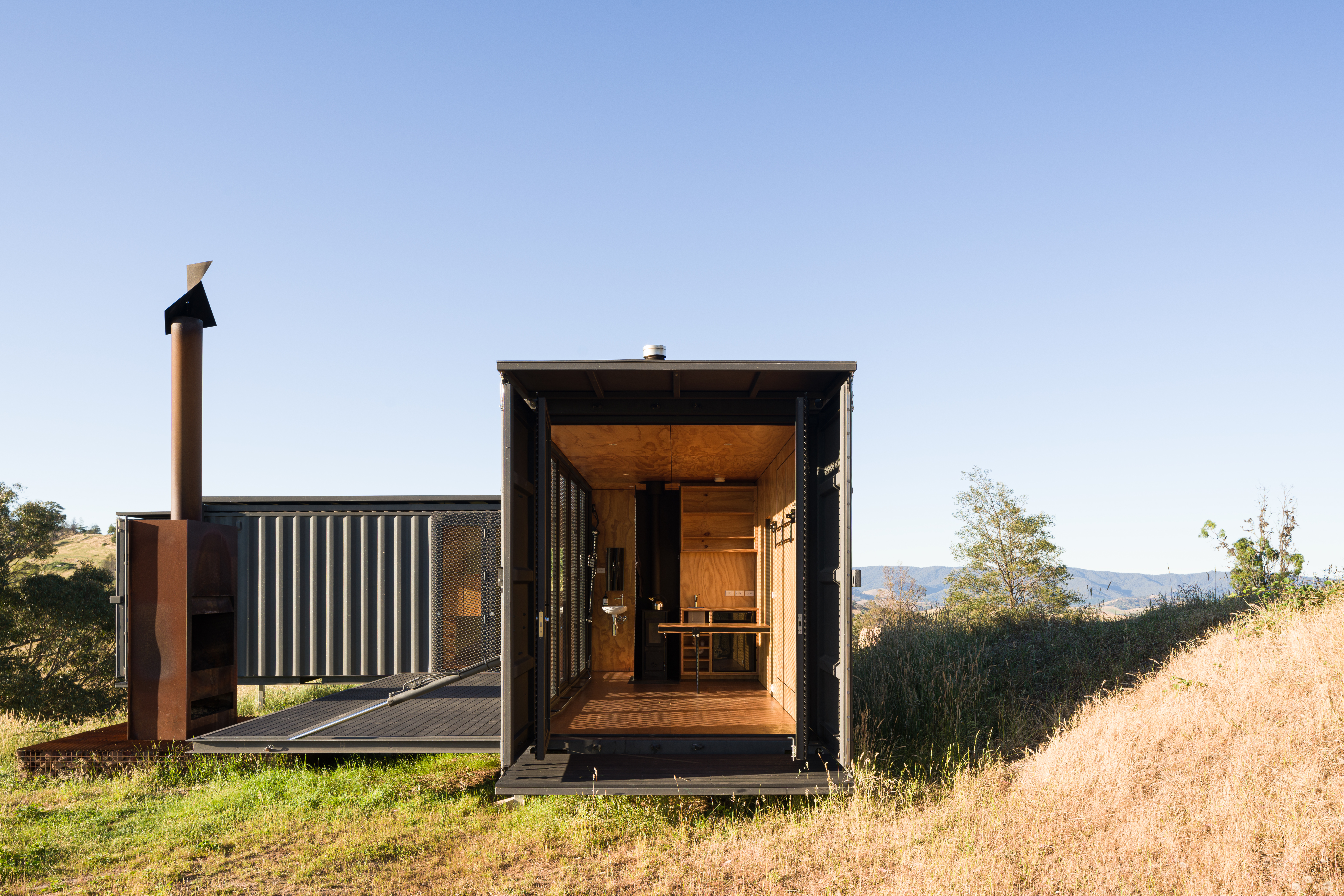 Mansfield Shipping Container Tiny House
