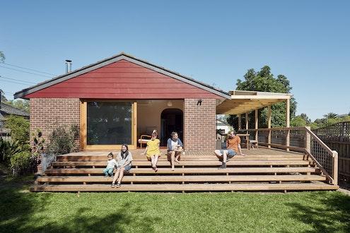 Maribyrnong Mods by Michael McManus Architects (via Lunchbox Architect)