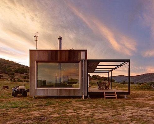 Modscape Self Sufficient Cabin