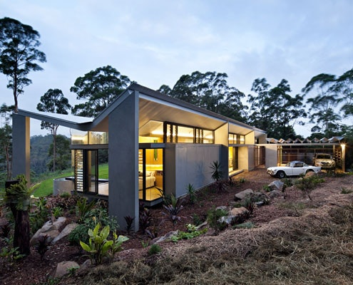 Montville Residence by Sparks Architects (via Lunchbox Architect)