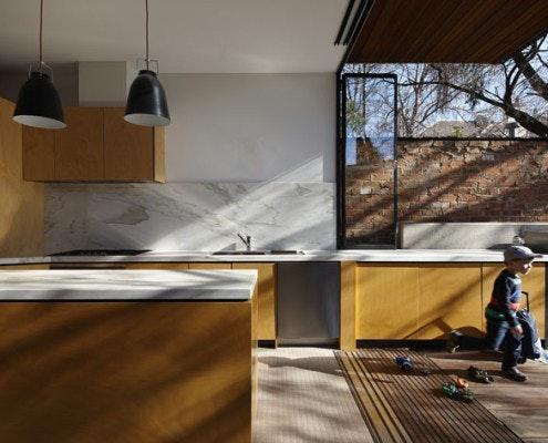 Moor Street Residence by Andrew Maynard Architects (via Lunchbox Architect)