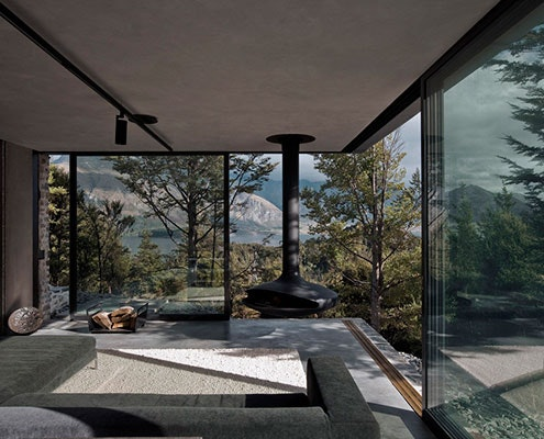 Mountain Retreat by Fearon Hay Architects (via Lunchbox Architect)