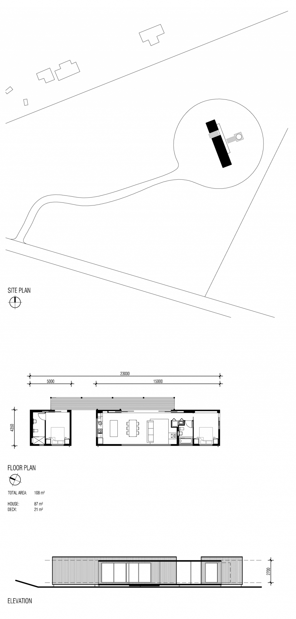 Musk Prefab Cabin by Modscape (via Lunchbox Architect)