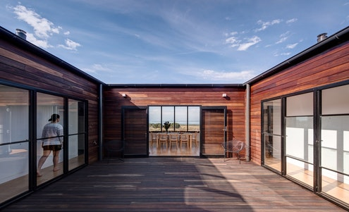New Farmhouse French Island by Lai Cheong Brown (via Lunchbox Architect)