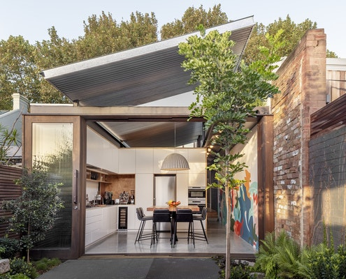 Oye Mi Canto House by CplusC Architectural Workshop (via Lunchbox Architect)