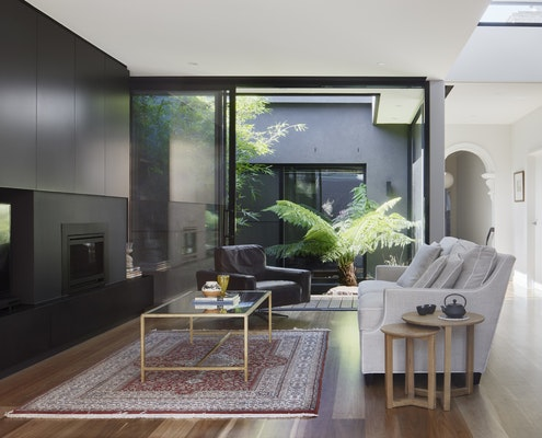 Palm House by Kirsten Johnstone Architecture (via Lunchbox Architect)