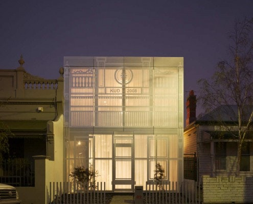 Perforated House by Kavellaris Urban Design (via Lunchbox Architect)