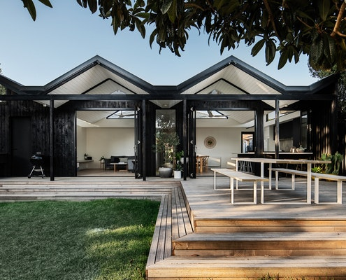 Pleated House by Megowan Architectural (via Lunchbox Architect)