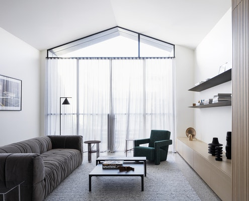 Port Melbourne House by Pandolfini Architects (via Lunchbox Architect)