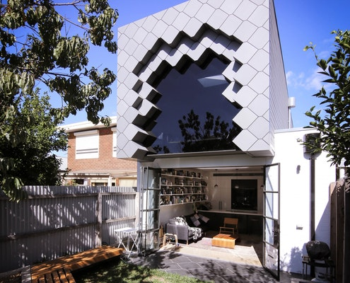 Quarry House by Hook Turn Architecture (via Lunchbox Architect)