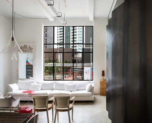 Queen Street Apartment by Dorrington Atcheson Architects (via Lunchbox Architect)