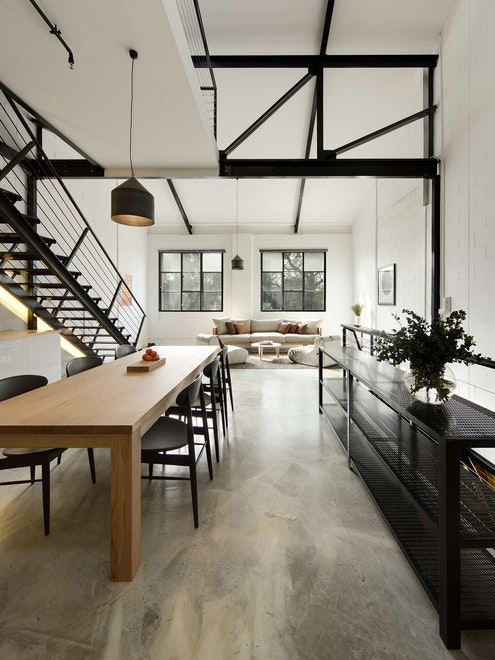 Regent Street Warehouse by Techne Architecture + Interior Design (via Lunchbox Architect)