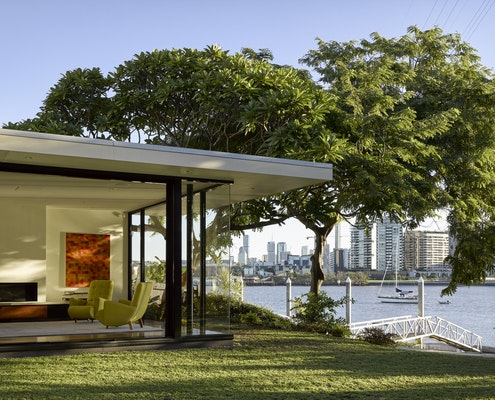 River Room/Pavilion for S&P House by Shane Thompson Architects (via Lunchbox Architect)