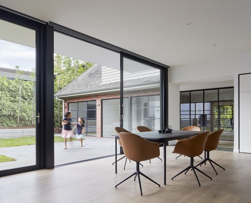 Robinson Road House by Chan Architecture (via Lunchbox Architect)