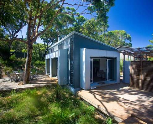 Seal Rocks House by Bourne Blue Architecture (via Lunchbox Architect)