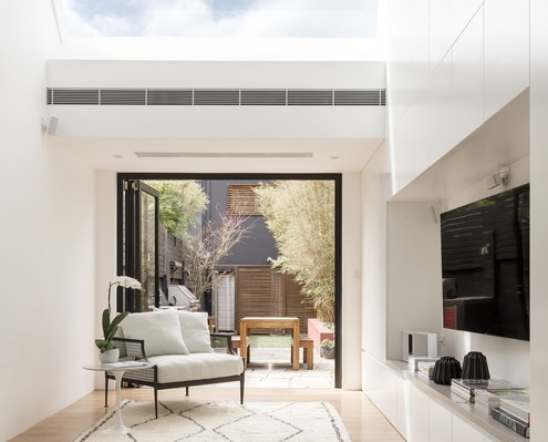 Skylight Terrace by Josephine Hurley Architecture (via Lunchbox Architect)