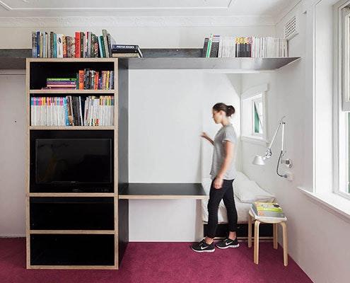 Sliding Wall House by Nicholas Gurney (via Lunchbox Architect)