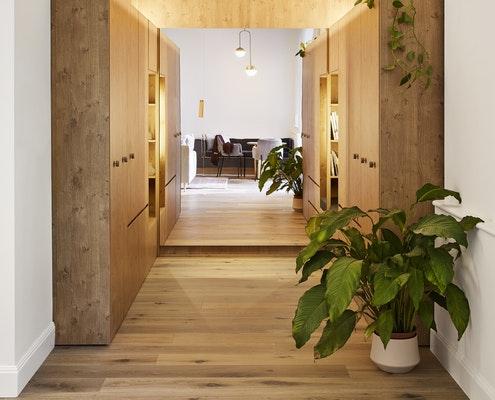 Small Grand Apartment by Tsai Design (via Lunchbox Architect)