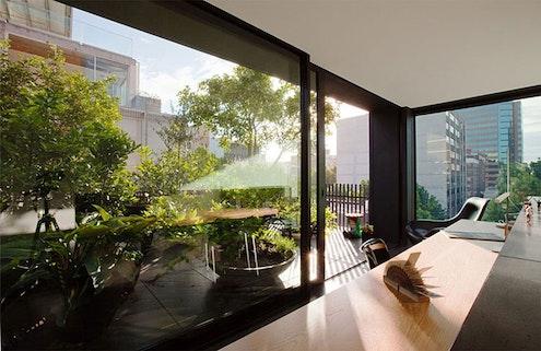 Small House by Domenic Alvaro Architect (via Lunchbox Architect)