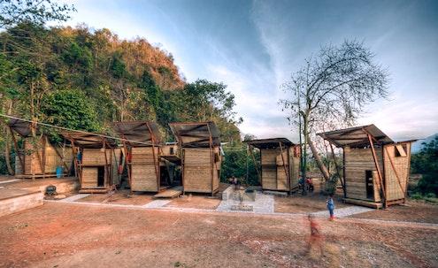 Soe Ker Tie Houses Thailand by TYIN Tegnestue (via Lunchbox Architect)