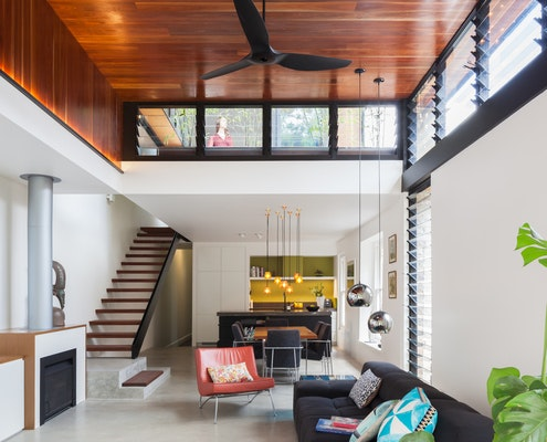 Splice House by Stukel Architecture (via Lunchbox Architect)
