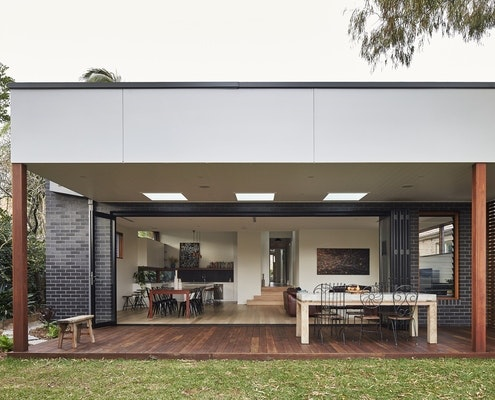 Step Down House by Bijl Architecture (via Lunchbox Architect)