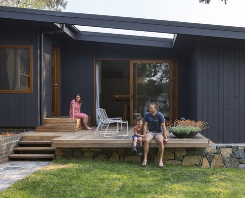 Stepping House by Rob Henry Architects (via Lunchbox Architect)
