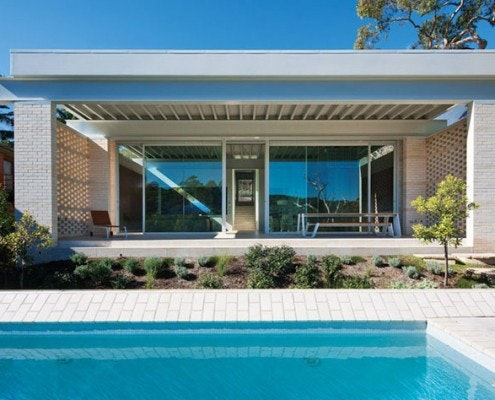 Stewart House by Chenchow Little Architects (via Lunchbox Architect)