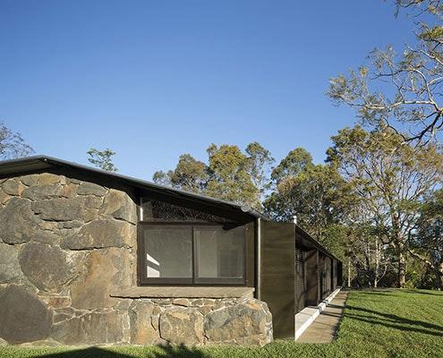 Stone House by CHROFI Architects (via Lunchbox Architect)
