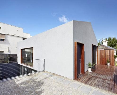 Sunken Courtyard House by Gestalten Architects (via Lunchbox Architect)