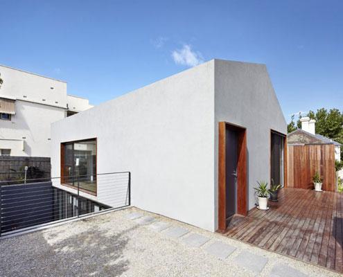 Sunken Courtyard House