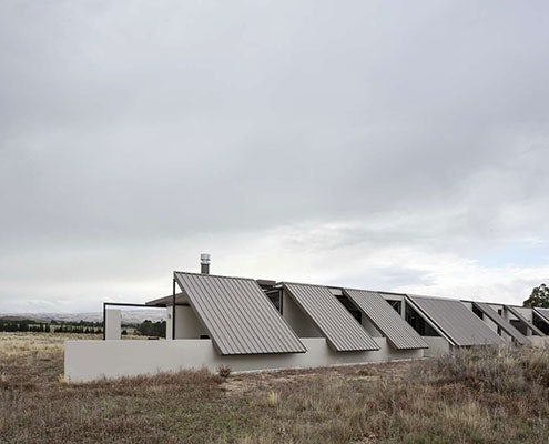 Tent House by Irving Smith Jack Architects (via Lunchbox Architect)