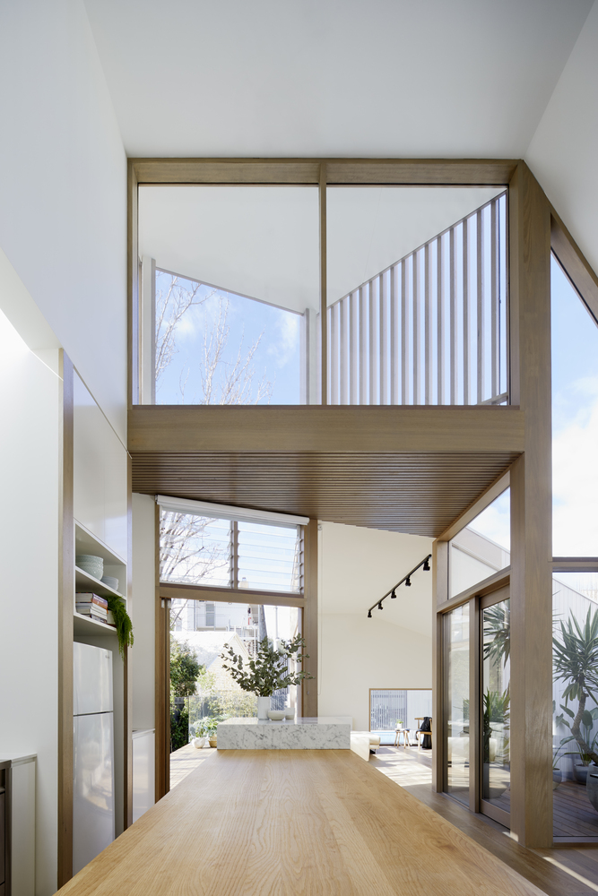 A New Two-storey House That Won't Upset the Neighbours...