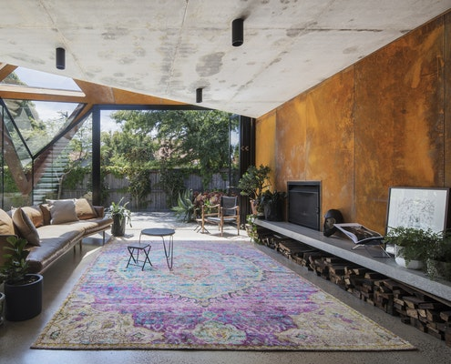 The Leaf House by Damian Rogers Architecture (via Lunchbox Architect)