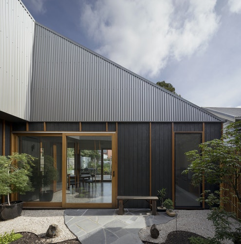 Thornbury House by Bent Architecture (via Lunchbox Architect)