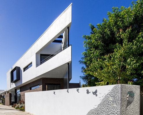 Triangle House by Robeson Architects (via Lunchbox Architect)