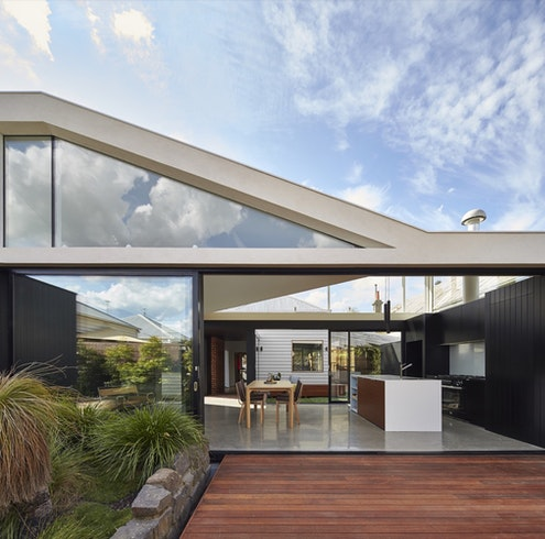 Tunnel House by Michael Ong (via Lunchbox Architect)