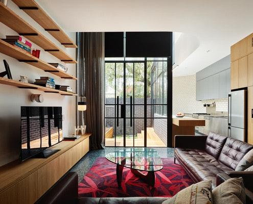 Turn House by Rebecca Naughtin Architect (via Lunchbox Architect)